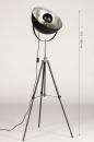 Vloerlamp 74360: industrie, look, modern, metaal #14