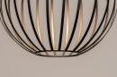 Hanglamp 74367: modern, eigentijds klassiek, art deco, messing #11