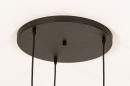 Hanglamp 74367: modern, eigentijds klassiek, art deco, messing #13