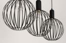 Hanglamp 74368: industrie, look, modern, metaal #11