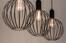 Hanglamp 74368: industrie, look, modern, metaal #3