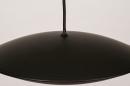 Hanglamp 74380: design, modern, metaal, zwart #6