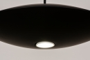 Hanglamp 74380: design, modern, metaal, zwart #8