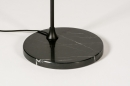 Vloerlamp 74382: modern, marmer, metaal, zwart #8