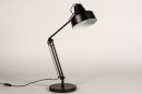 Lampe de chevet 74384: rural rustique, retro, acier, noir #4