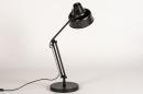 Lampe de chevet 74384: rural rustique, retro, acier, noir #5