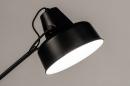 Lampe de chevet 74384: rural rustique, retro, acier, noir #6