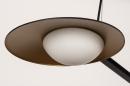 Hanglamp 74387: design, modern, glas, wit opaalglas #10