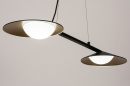 Hanglamp 74387: design, modern, glas, wit opaalglas #3