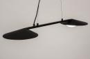 Hanglamp 74387: design, modern, glas, wit opaalglas #4