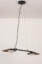 Hanglamp 74387: design, modern, glas, wit opaalglas #6