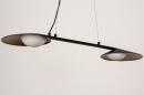 Hanglamp 74387: design, modern, glas, wit opaalglas #7