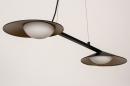 Hanglamp 74387: design, modern, glas, wit opaalglas #8