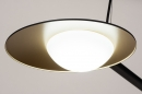 Hanglamp 74387: design, modern, glas, wit opaalglas #9