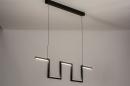 Hanglamp 74389: design, modern, metaal, zwart #2