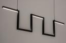 Hanglamp 74389: design, modern, metaal, zwart #3