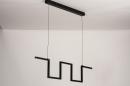 Hanglamp 74389: design, modern, metaal, zwart #6