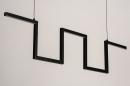 Hanglamp 74389: design, modern, metaal, zwart #7