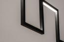 Hanglamp 74389: design, modern, metaal, zwart #9