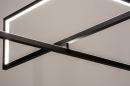 Hanglamp 74390: design, modern, metaal, zwart #10