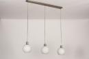 Hanglamp 74393: modern, retro, glas, wit opaalglas #7