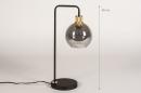 Tafellamp 74394: modern, retro, eigentijds klassiek, art deco #1