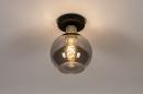 Plafondlamp 74395: modern, retro, eigentijds klassiek, art deco #2