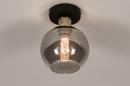 Plafondlamp 74395: modern, retro, eigentijds klassiek, art deco #3