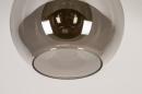 Plafondlamp 74395: modern, retro, eigentijds klassiek, art deco #8