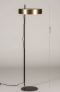 Vloerlamp 74399: design, modern, retro, eigentijds klassiek #1