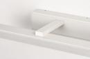 Wandlamp 74404: modern, aluminium, metaal, wit #8