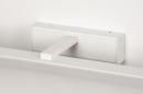 Wandlamp 74405: modern, aluminium, metaal, wit #8