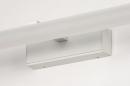 Wandlamp 74405: modern, aluminium, metaal, wit #9