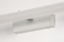 Wandlamp 74406: modern, aluminium, metaal, wit #10