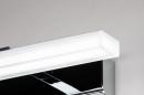 Wandlamp 74407: modern, metaal, chroom, rechthoekig #10