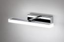 Wandlamp 74407: modern, metaal, chroom, rechthoekig #4