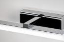 Wandlamp 74407: modern, metaal, chroom, rechthoekig #9