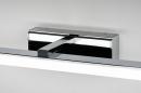 Wandlamp 74408: modern, metaal, chroom, rechthoekig #8