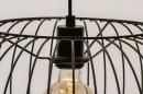 Hanglamp 74413: modern, retro, metaal, zwart #8