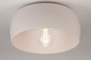 Plafondlamp 74416: modern, metaal, wit, grijs #2
