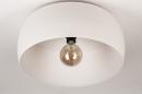 Plafondlamp 74416: modern, metaal, wit, grijs #7