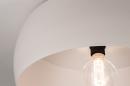 Plafondlamp 74416: modern, metaal, wit, grijs #8
