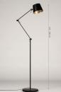 Vloerlamp 74425: industrie, look, modern, metaal #1