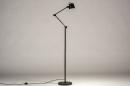 Vloerlamp 74427: industrie, look, modern, metaal #3