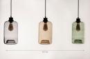 Hanglamp 74443: modern, retro, eigentijds klassiek, glas #12