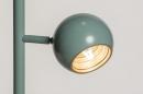 Vloerlamp 74446: modern, retro, metaal, groen #18