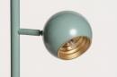 Vloerlamp 74446: modern, retro, metaal, groen #20