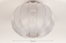 Plafondlamp 74454: landelijk, rustiek, modern, retro #1