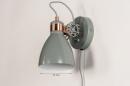 Wandlamp 74460: landelijk, rustiek, modern, retro #1