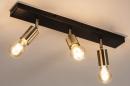 Plafondlamp 74481: landelijk, rustiek, modern, eigentijds klassiek #2